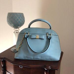Perfectly powder blue purse by Merona.